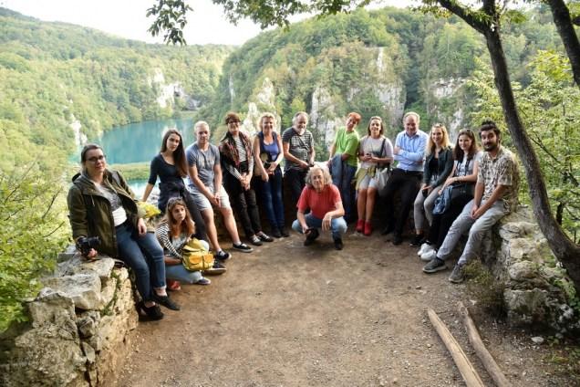 Sudionici i organizatori Privrednikove likovne kolonije, foto: Jovica Drobnjak