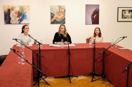 Mirela Blažević, Sonja Švec Španjol, Mateja Rusak, foto: Marko Polonio