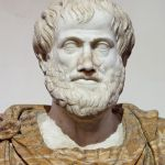 Aristotle, whose categorization of perception into 5 senses survived modern science.