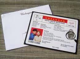 Contoh Kartu Undangan Pernikahan Unik Menarik Dan Kreatif