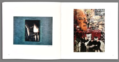 Photograph of interior of the book, Recent Forgeries by Viggo Mortensen