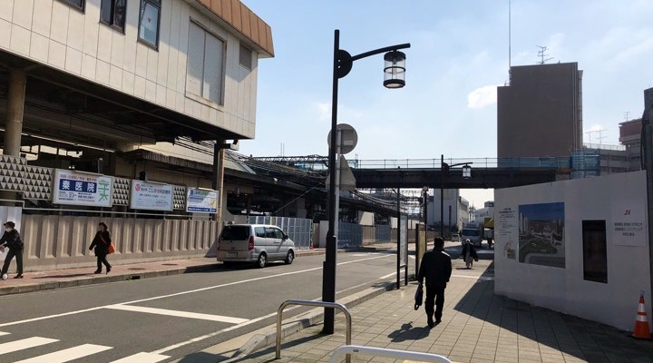 西大寺の南口駅前がどんどん変わってきています!