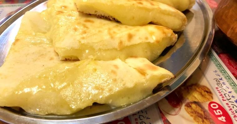 奈良で、カレーとチーズナンといえば!?ルンビニな夜〜♪