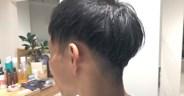 刈り上げ2ブロックでスッキリ!流行の韓流系メンズスタイル