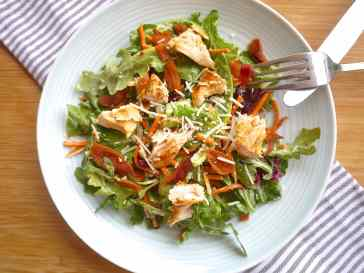 Image result for chicken caesar salad with carrots