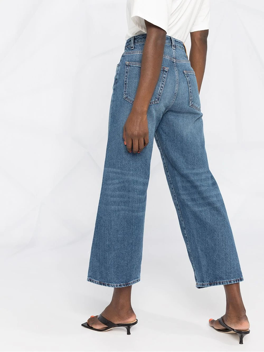 VAQUERO TOTEME FLARE FIT WASHED BLUE