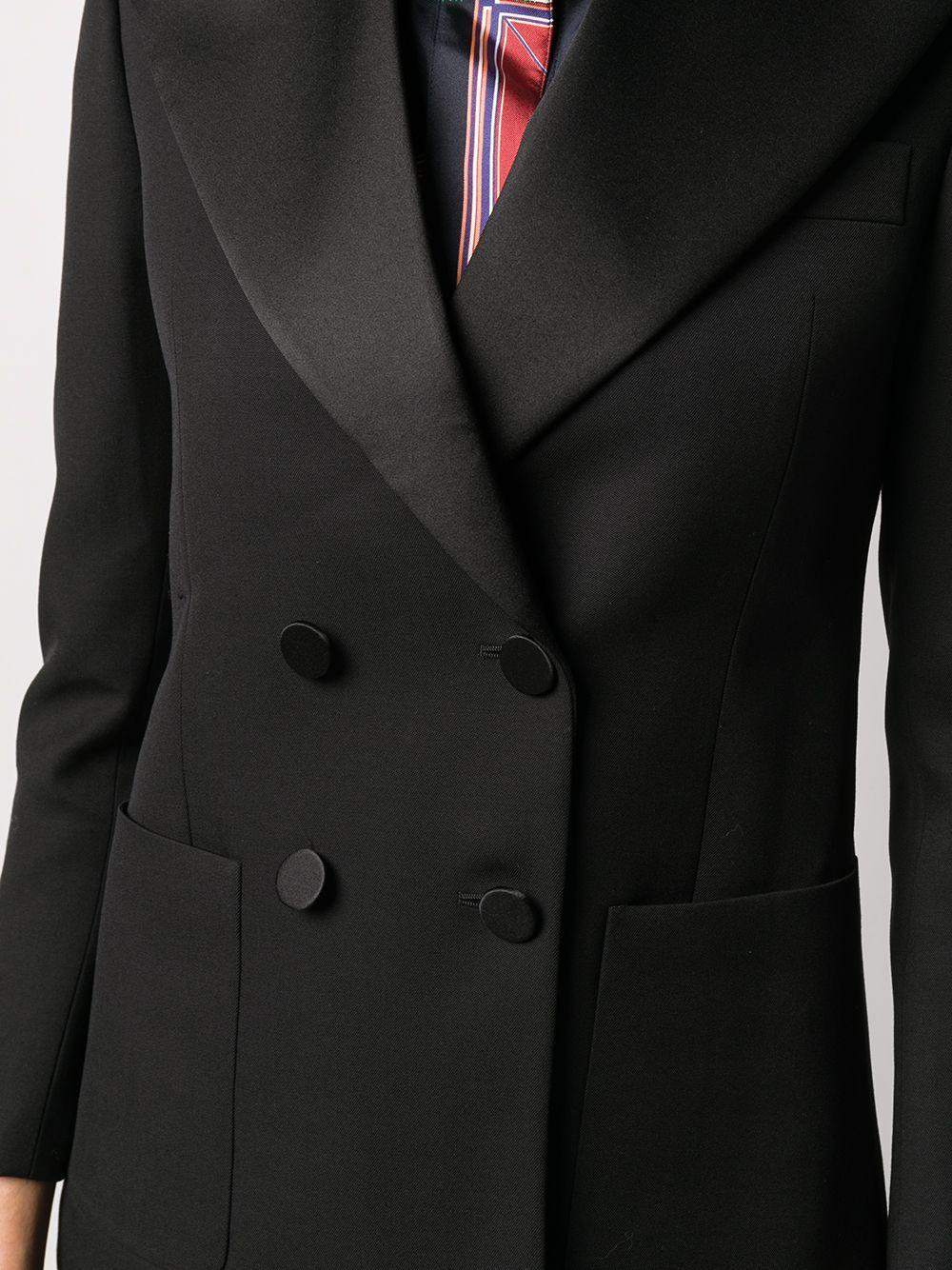 Saint Laurent chaqueta de esmoquin con doble botonadura