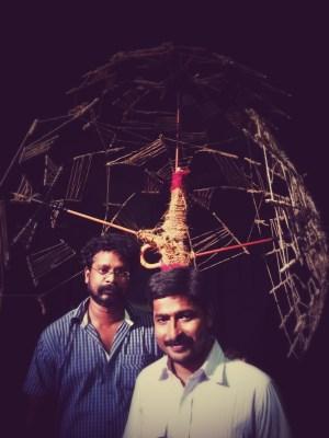 Manoj Kumar and Binod Mishra (Babu), the tech team