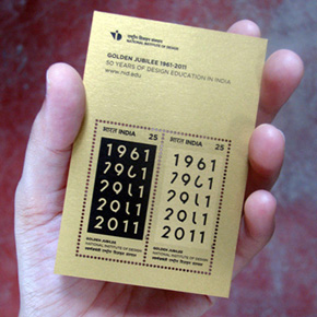 Creating Postage to Celebrate 50 Years of Design Education in India
