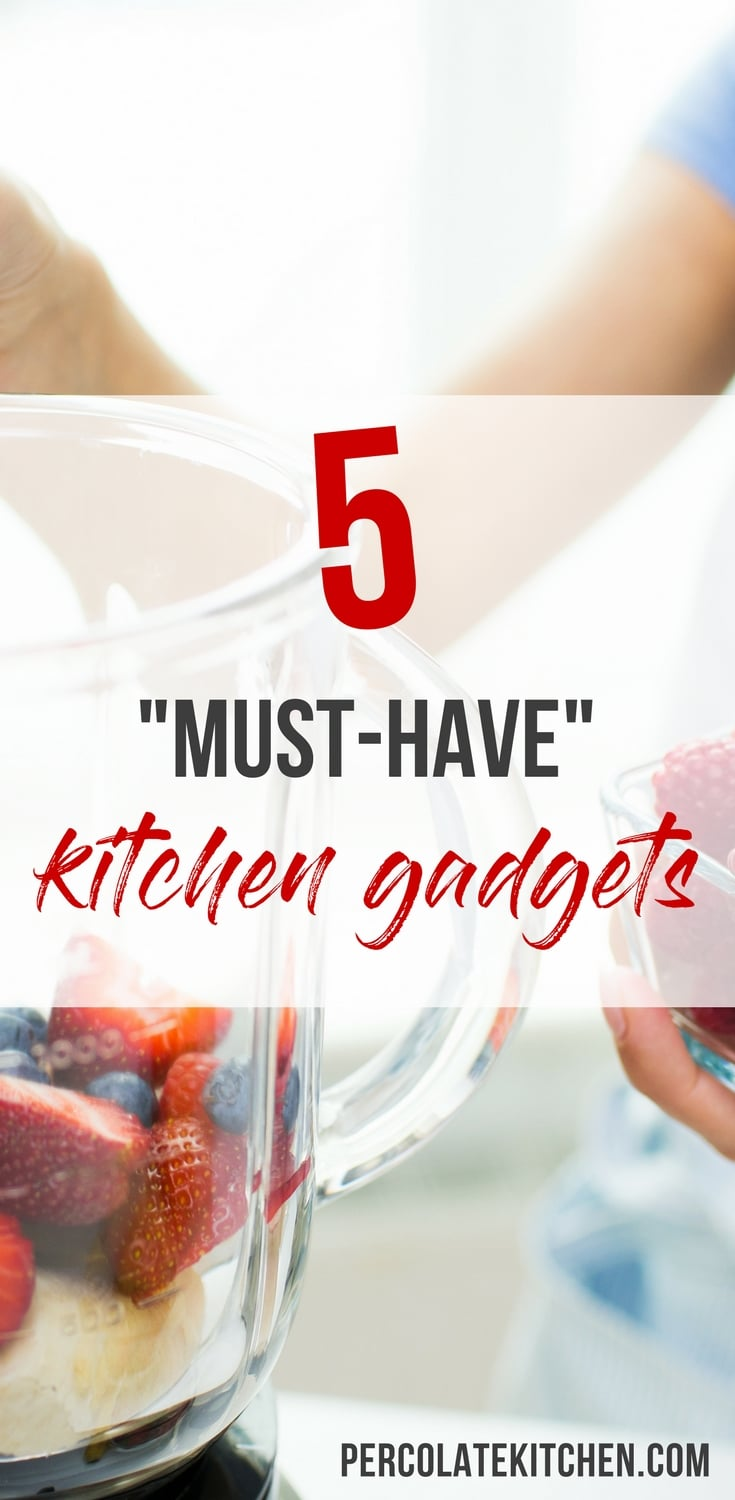 What are the best, must-have kitchen appliances for your kitchen? Here are 5+ essential kitchen gadgets every busy cook needs, plus recipes and links for each!