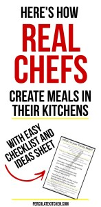I never thought about how professional chefs know how to make family meals on a budget- but it makes sense! She's got some really good ideas in the checklist, too. It helped me cut our grocery budget big time!