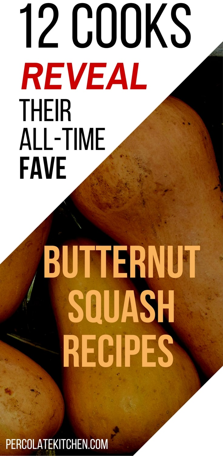 I love making butternut squash recipes in the winter and fall, especially for the holidays! this is a great roundup. She's even got a cool tip about how to slice a butternut squash- i was so scared the first time, but her idea really worked!