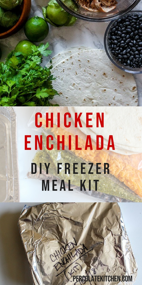 Busy parents know that freezer meals are lifesavers on busy nights. Here's how to put them together, what to look for, plus an easy Chicken Enchilada recipe to get you started!