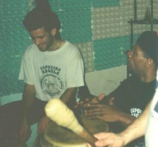 2001 con el Mestre Pedrinho de Caxias