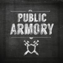 """Chalkboard """"Public Armory"""""""