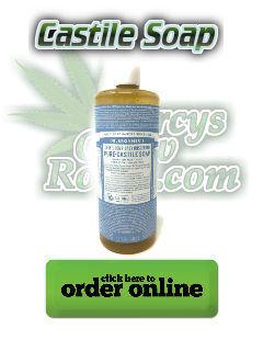 castile soap, neem oil, pesticides
