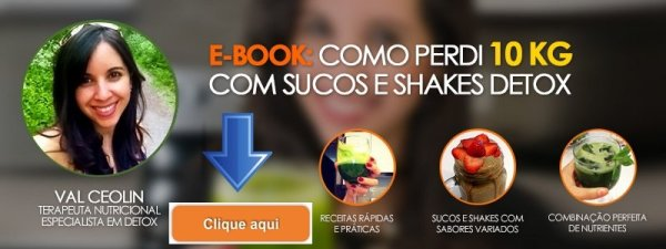 Ebook Receita de Suco Detox Val Ceolin