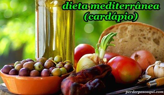 O que é Dieta Mediterrânea