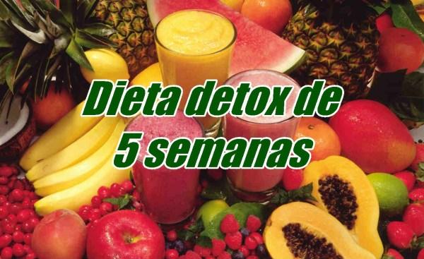 Dieta Detox De 5 Semanas