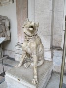 I just liked this dog statue.