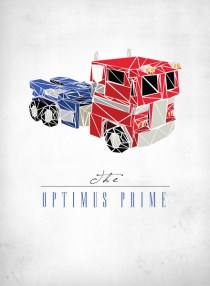 pereception transformer de josh LN Optimus prime