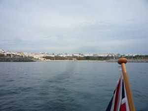 Leaving Sines...before the rain!