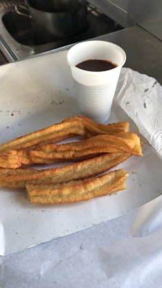 Traditional churros