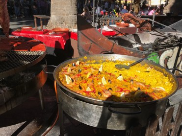 You can't beat a giant Paella..