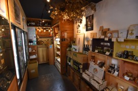 The shop was lovely and had all kinds of artisan foods to accompany the sake!
