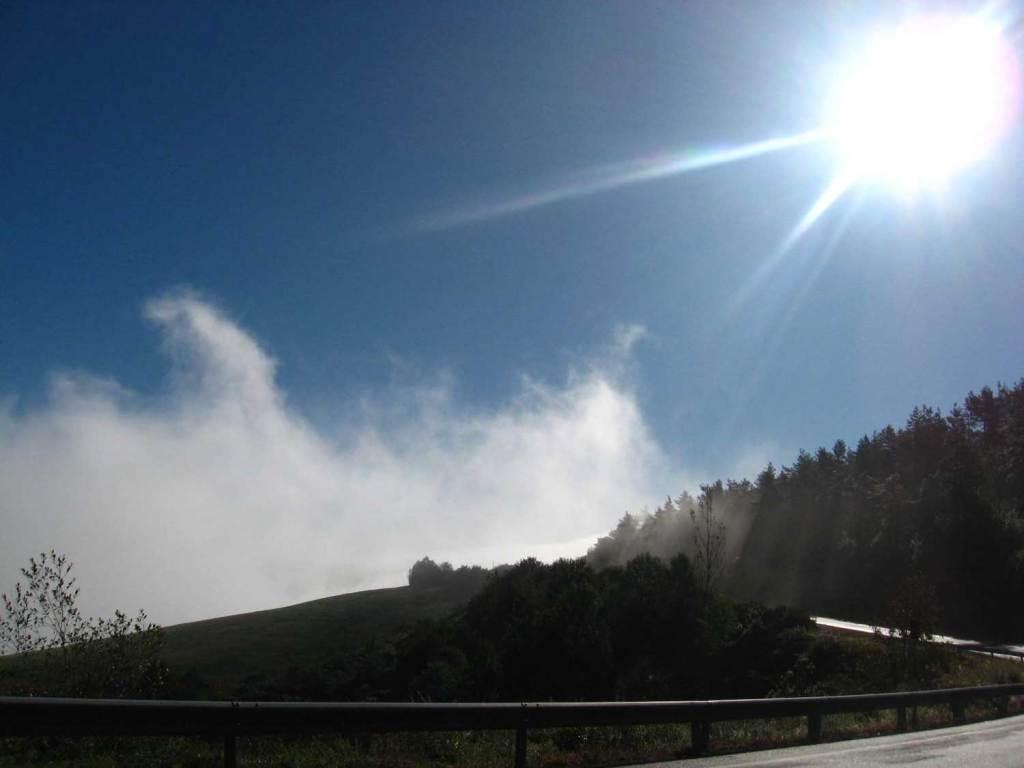 mgły w Galicii