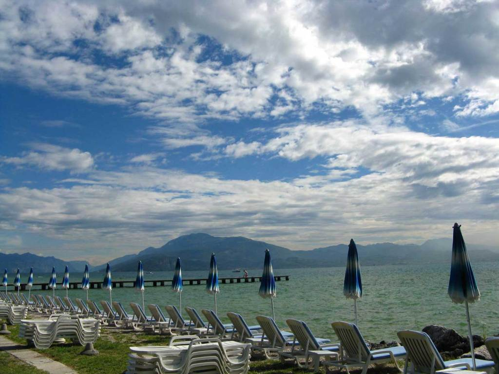 Nad jeziorem Garda
