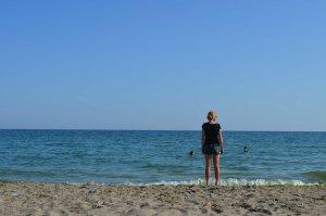 Daria nad brzegiem morza Marmara