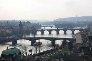 mosty nad Wełtawą