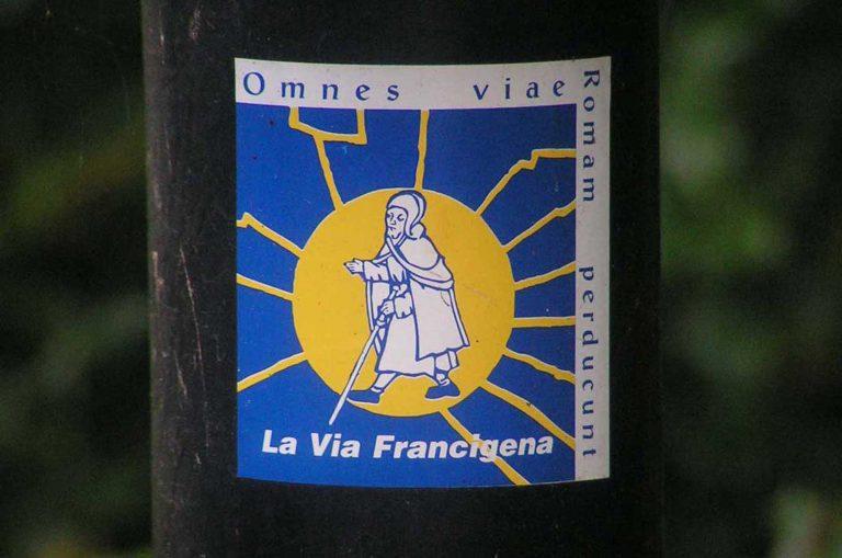 Via Francigena oznaczenie szlaku