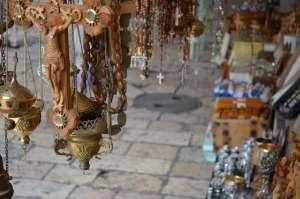 na bazarze w Starej Jerozolimie