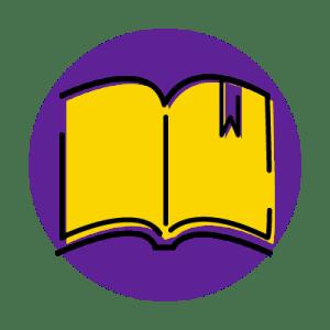 ikona przedstawiająca książkę