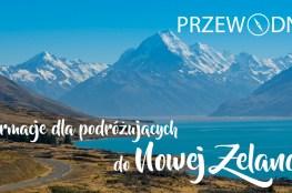 Strona tytułowa przewodnika po Nowej Zelandii