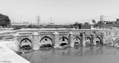 Wazirabad Bridge, built by Firuz Shah Tughlaq