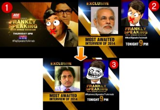 BREAKING NEWS:Owned by Thackeray & #Modi,Arnab to host Rameez Raza as next guest #ModiSpeaksToArnab