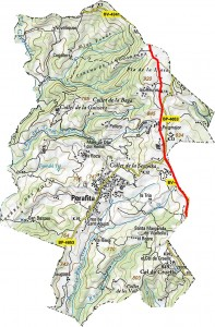 mapa camí ramader