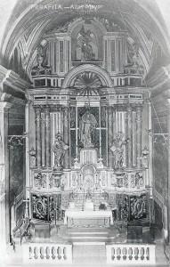 Altar Major, Església de Perafita
