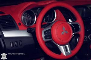Перетяжка салона Mitsubishi Evolution