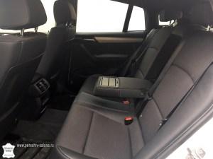 Задние сидения BMW X4
