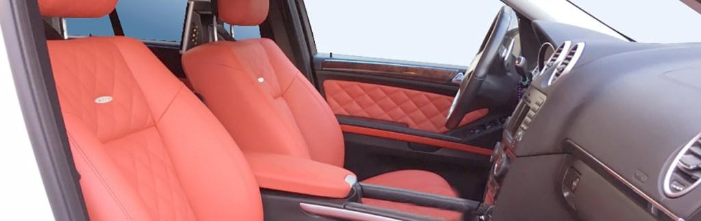 Перетяжка салона Mercedes AMG ML