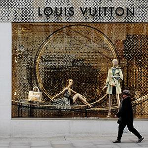 Louis Vitton делает большую работу в Китае