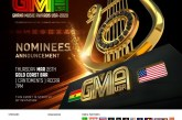 List Of Artists Performing At The Nominees Announcement - Ghana music Awards USA