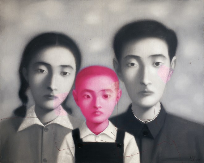 zhang-xiaogang-big-family-1998-from-bloodline-series