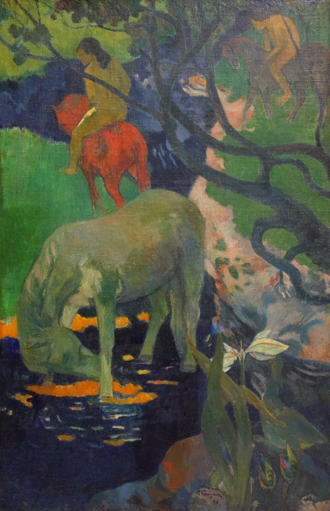 Paul Gauguin - Le cheval blanc en 1898