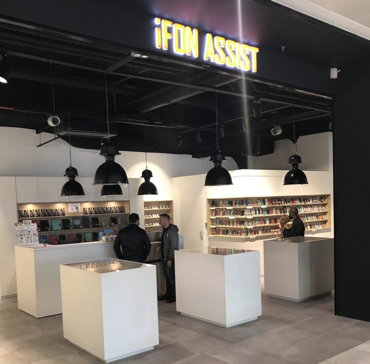 Boutique iFon Assist 0 Centre Commercial MUSE Metz - PEREZ Carrelages & Marbrerie - Augny 57685