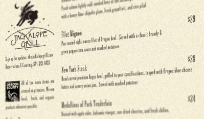 jackalope-menu